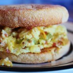 Spicy Scrambled Egg Sandwich