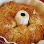 Garlic Parmesan Pull Apart Bread