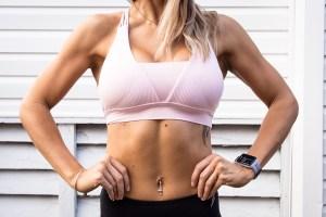 Lady exercise