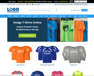 Logo Sportswear Website