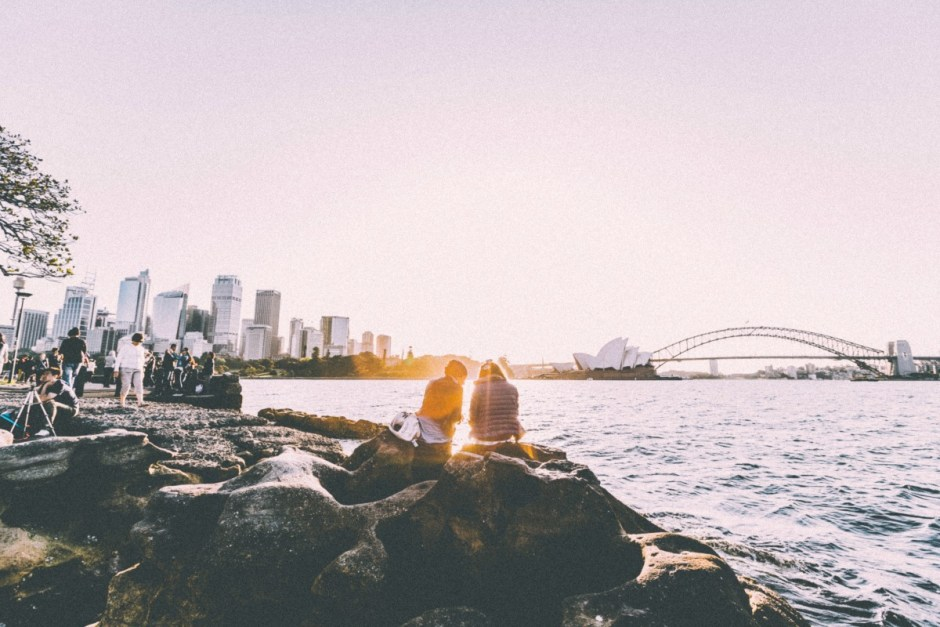 A beautiful view of Sydney Opera Bridge