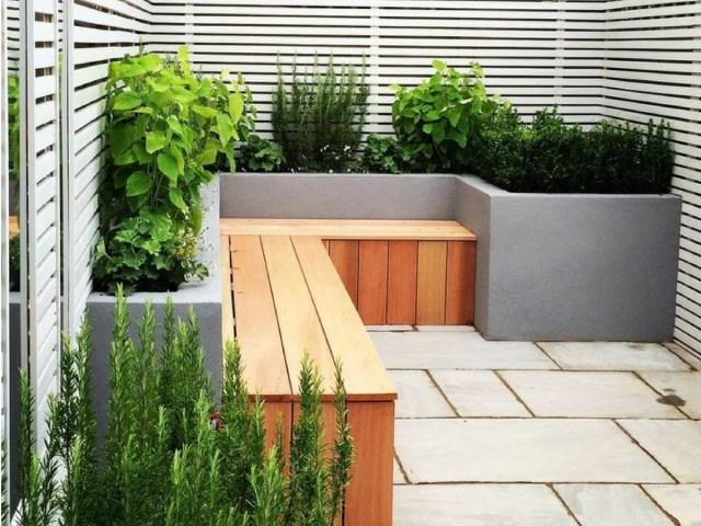 Small Modern City Garden