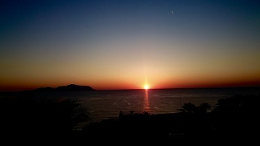 December 26th - Sunrise over the Red Sea and Tiran Island