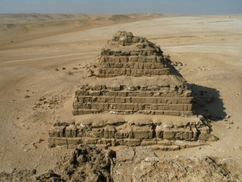 The adjacent Pyramid of Queens