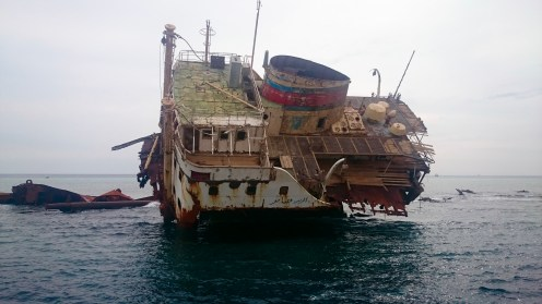 The Wreck of the Loullia on Gordon Reef
