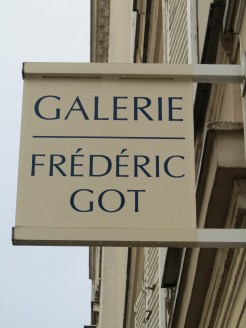 We stepped in to check out this gallery....