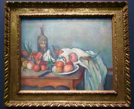 1896 - 1898 - Paul Cezanne - Still Life With Onions