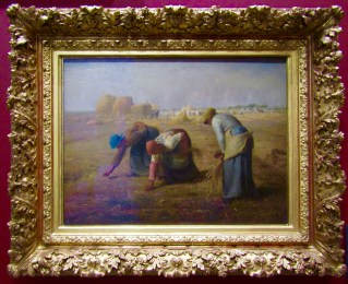 !857 - Jean-Francois Millet - The Gleaners