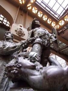 Jean-Léon Gérôme (1824-1904), Aimé Morot (1850-1913) Gérôme exécutant les Gladiateurs, Monument à Gérôme Entre 1878 et 1909