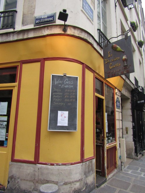 The wine shop on the corner where I bought wine!! 3 EUR's for a GOOD bottle of wine!!!!