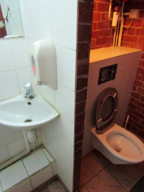 For comparison, the toilet in a Subway in Paris!!!