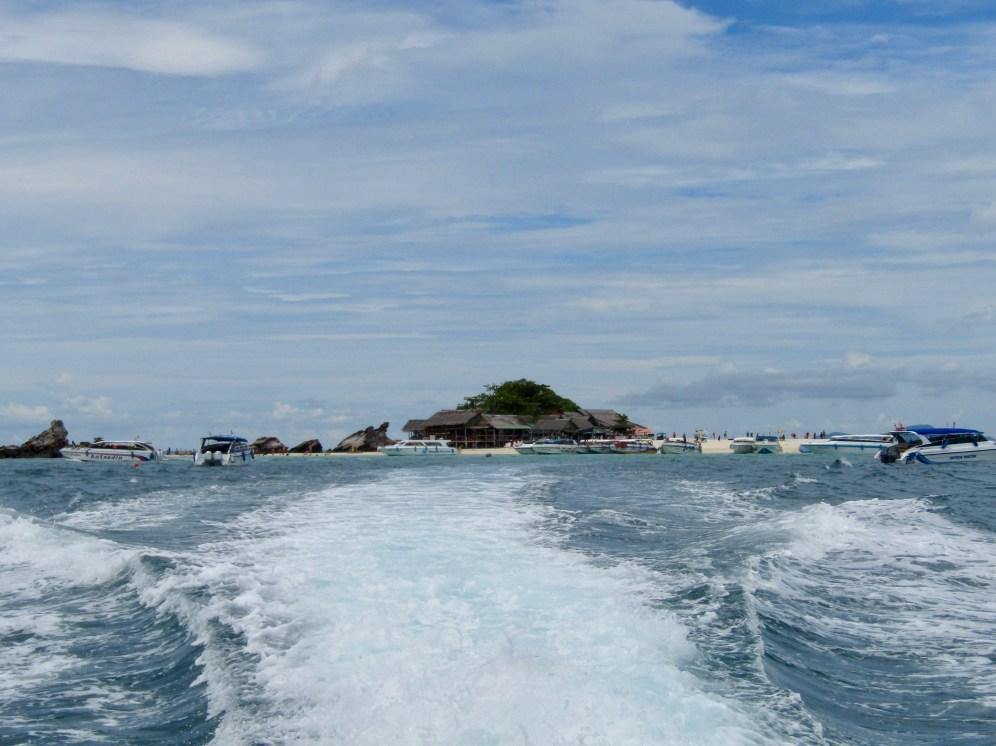 Leaving the island!