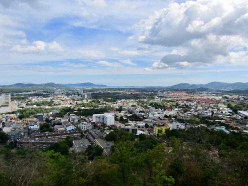View of Phuket City