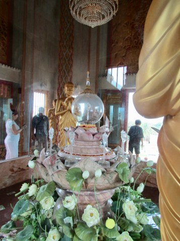 The bone splinter of Buddha