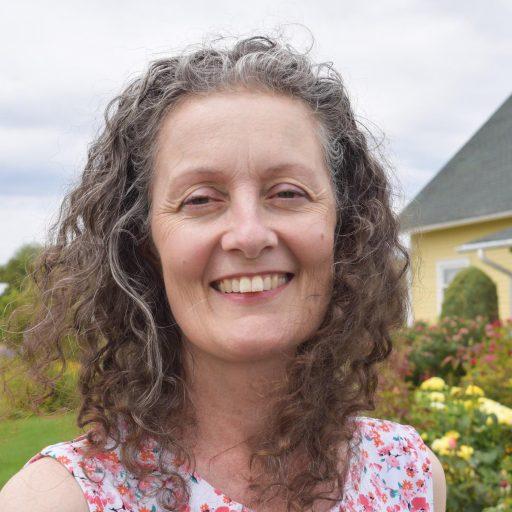 Lucy Kelly, professional organizer, owner of Joyful Surrroundings LLC