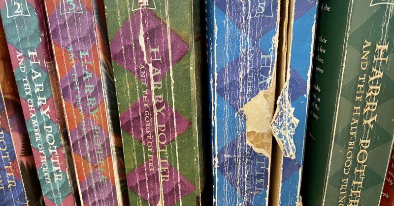 Harry Potter paperback books