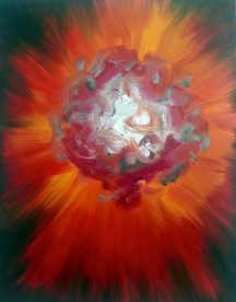 Snowball, 2012, oil/canvas, 26x22 inches