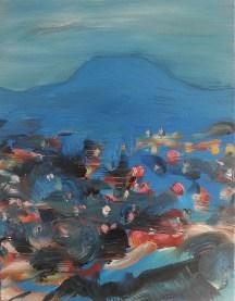 Twilight, 2013, oil/canvas, 14x11 inches