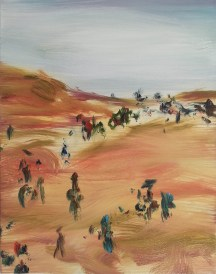 Wanderers, 2013, oil/canvas, 14x11 inches