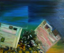 Blue Lagoon, 2015, oil on canvas, 20x24 inches