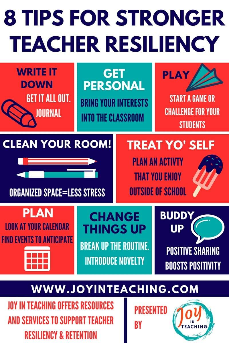 8 Tips For Stronger Teacher Resilience