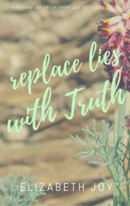 Replace Lies With Truth, finding joy ebook