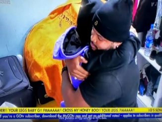 BBNaija: See What White Money Did After Maria Hugged Him While She Cried For Nominating Him (VIDEO)