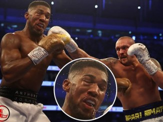 Anthony Joshua Lands In Hospital After Losing To Usyk