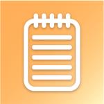 Logo van de app Kladblok - apps om succesvol te shoppen bij je lokale handelaar