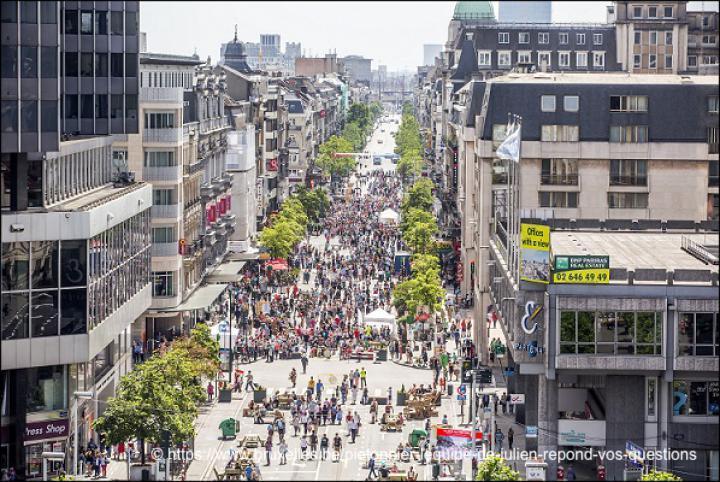 voetgangerscentrum Bruxelles