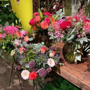 Bloemen van een Joyn handelaar