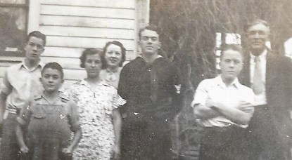 All five brothers in 1938, Dexter, Iowa