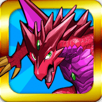 ícone de quebra-cabeça e dragões