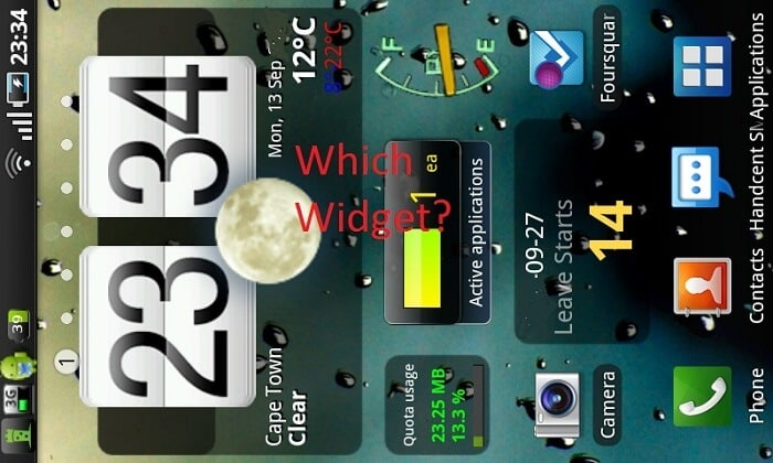 Widgets Galore