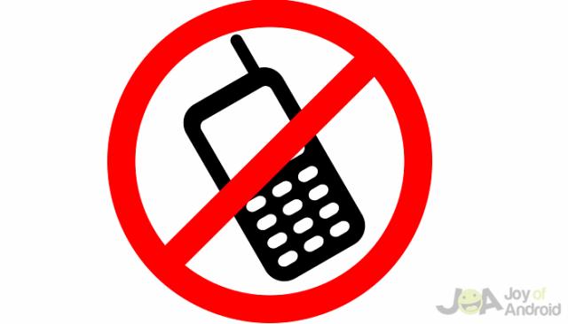 Turn off Smartphone