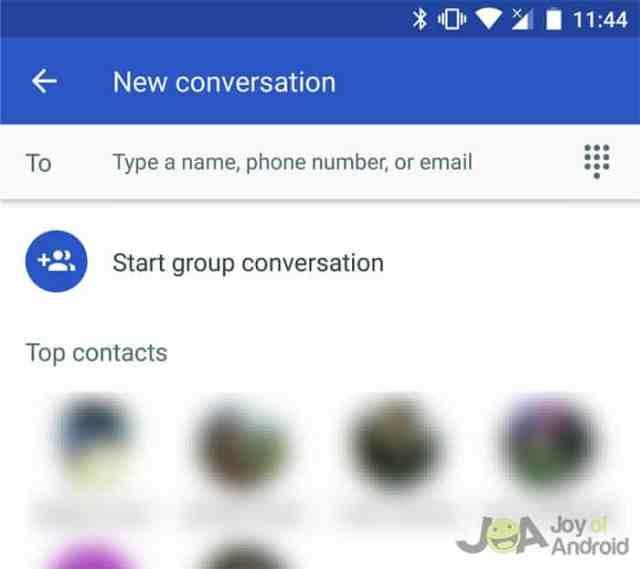 messages group conversation