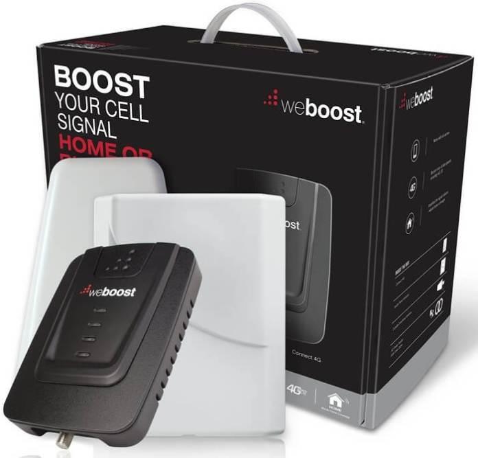 weBoost Connect amplificador de sinal de telefone celular interno para casa e escritório