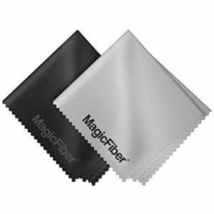 dois magicfiber panos de limpeza de microfibra