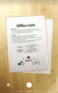 Lente Microsoft Office - Melhor Aplicativo de Scanner para Android