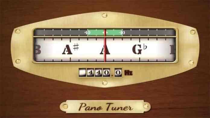 Interface do sintonizador de pano