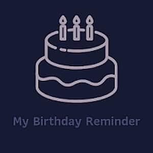 Birthday Reminder Apps - My Birthday Reminder