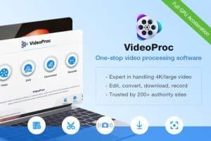 VideoProc combina vídeos de grande porte com facilidade e rapidez