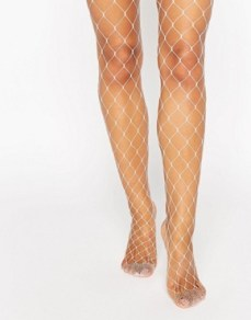 White fishnet tights. Pic: Asos.com