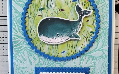 Whale Done Birthday Card  –  Stampin' Up!