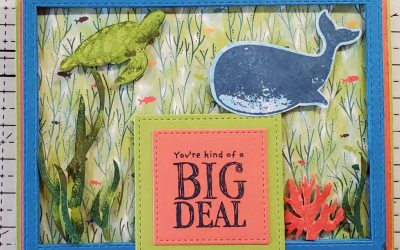 Whale Done Big Deal Birthday Card Stampin Up