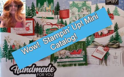 Stampin' Up! Mini Catalog August December 2020