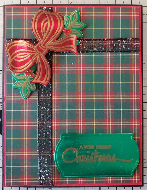 Gift Wrapped Christmas Card