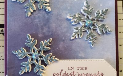 Snowflake Wishes Christmas Card – Stampin' Up! – Free Stamp Promotion