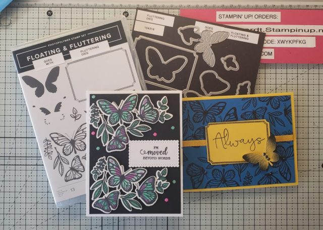 Floating & Fluttering Tutorial by Stampin Up