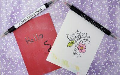 Emboss or Refill Stampin Up Blender Pens